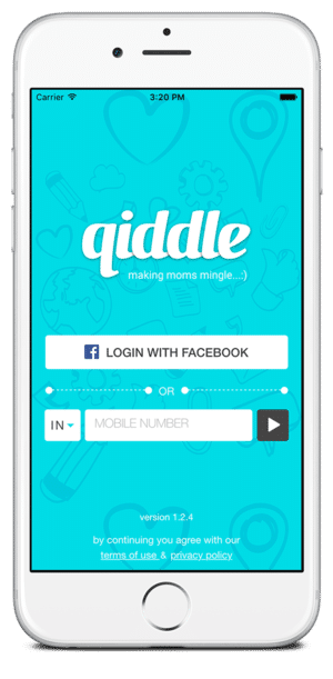 qiddle-iOS-home-screen